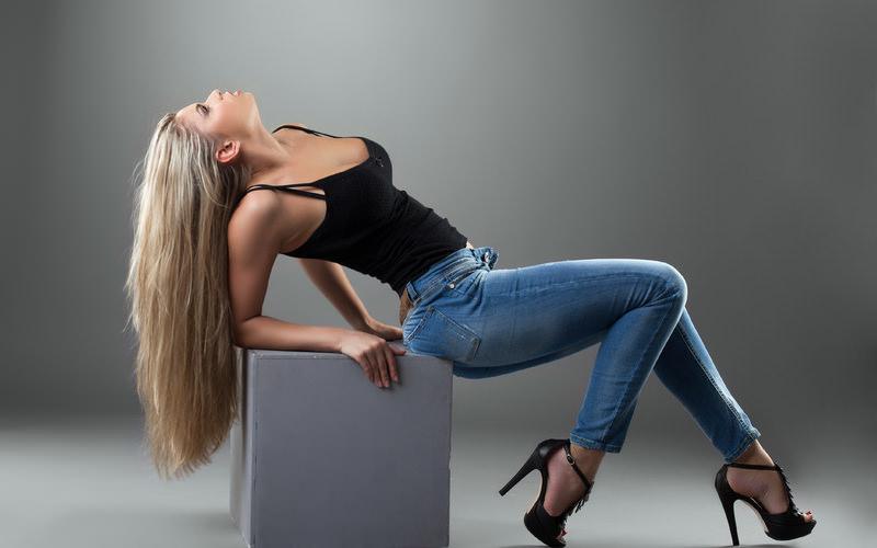 джинсы по типу фигуры