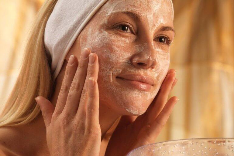 Натуральные маски от морщин