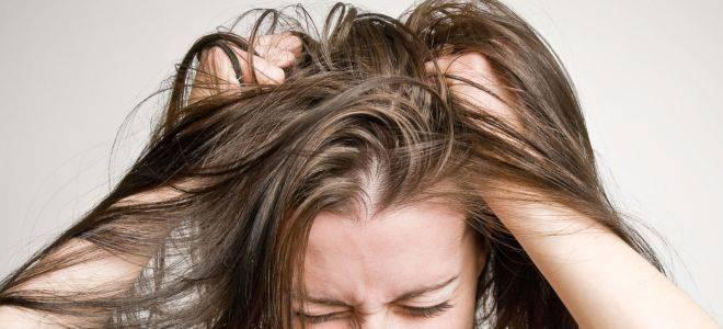 Причины себореи кожи головы