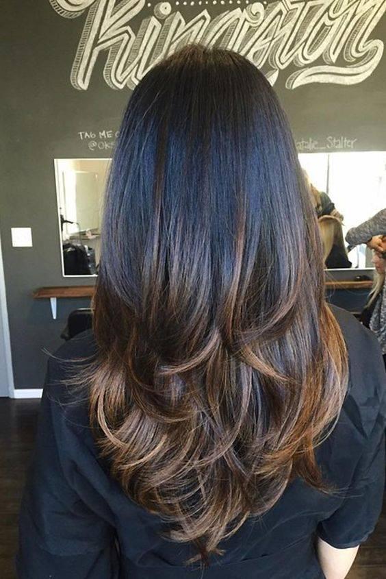 Варианты стрижки каскад на волосы средней длины