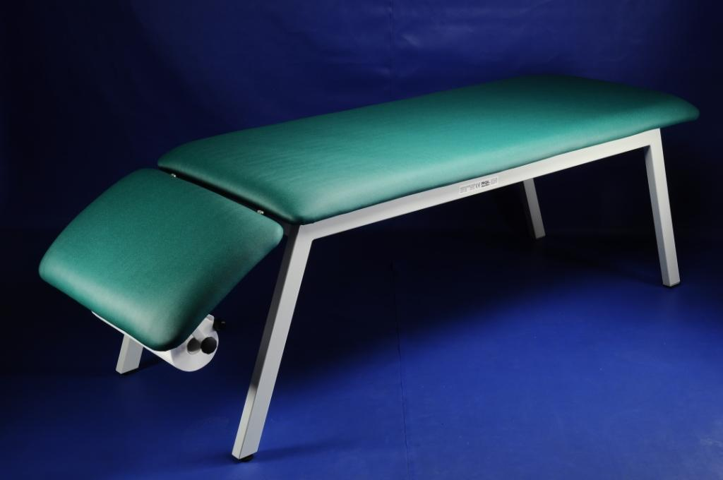 Медицинская мебель. Двухсекционная смотровая кушетка медицинская
