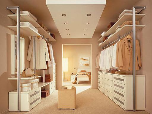 Дизайн гардеробной или зоны релаксации