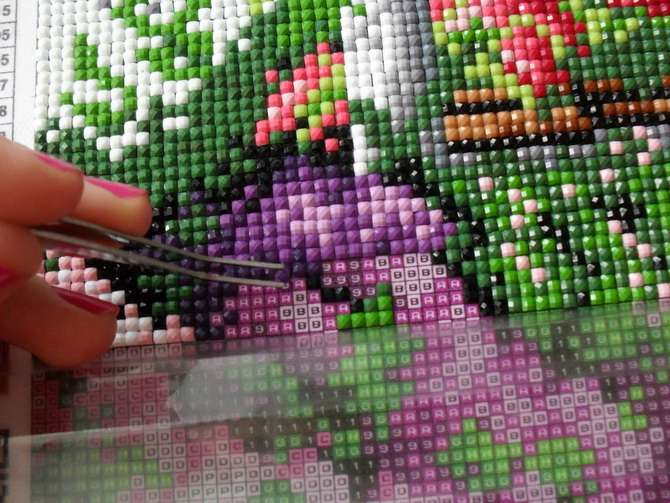 Секреты, о которых надо знать, складывая алмазную мозаику