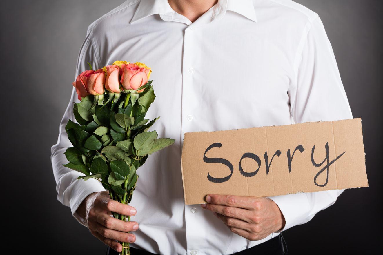 Искусство просить прощения с помощью букета