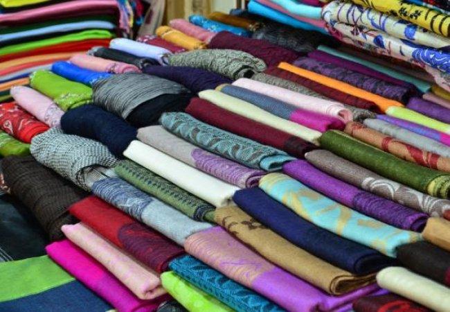 Покупка тканей, шитья и рукоделия