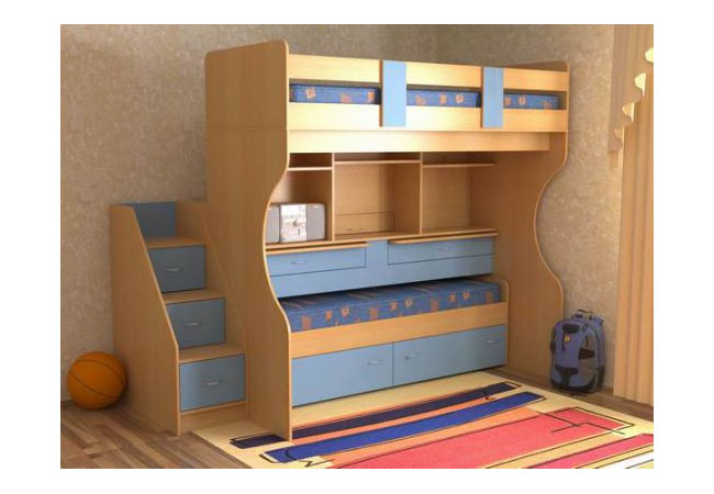 Детская кровать для мальчика