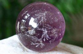 Украшения из натуральных камней • Аметист