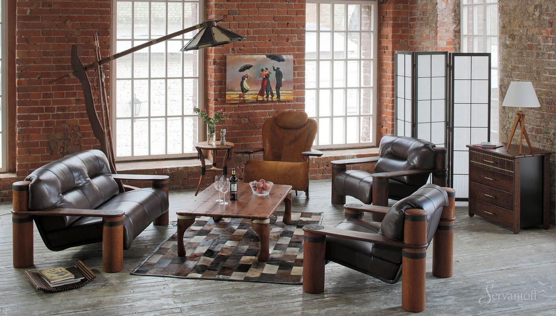Особенности лофт мебели