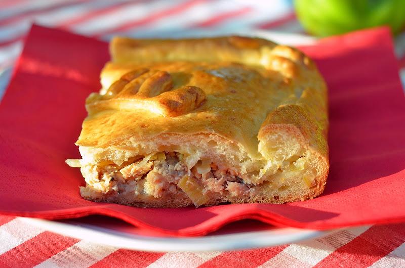 Как приготовить миланский рыбный пирог?