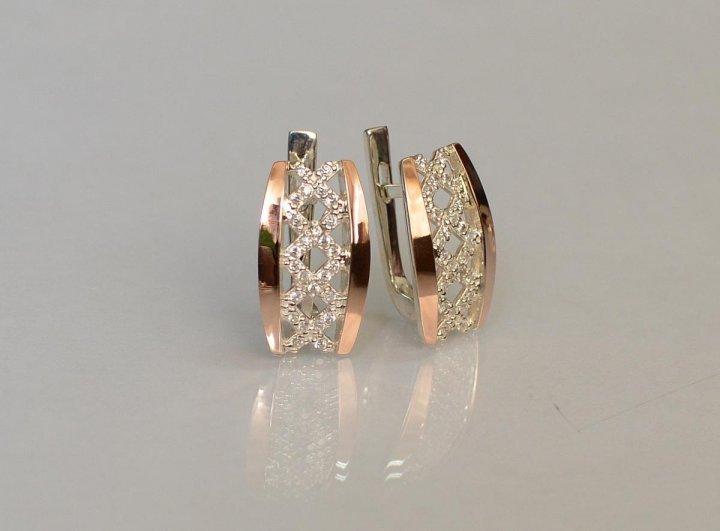 Серьги из золота и серебра с камнями и без от лучших производителей