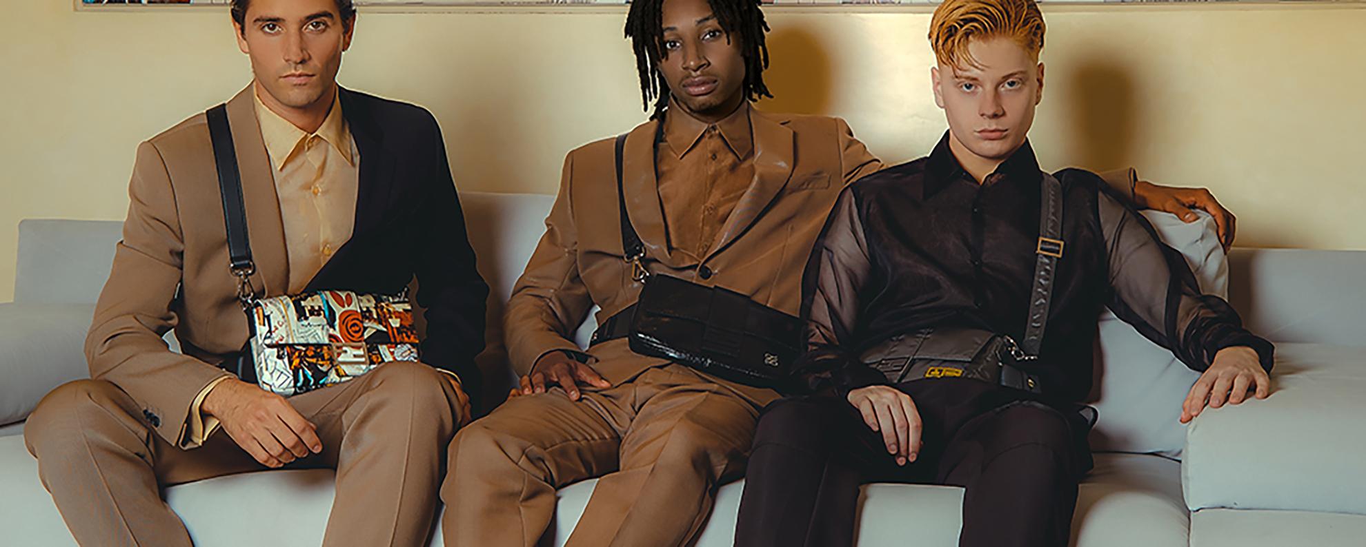 Брендовые мужские сумки ведущих брендов