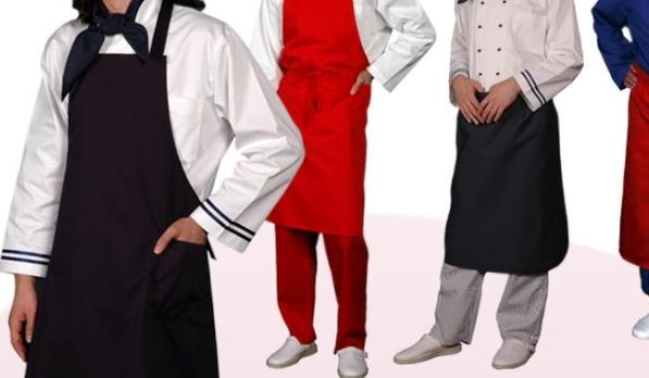 Фартуки и одежда повара для готовки еды