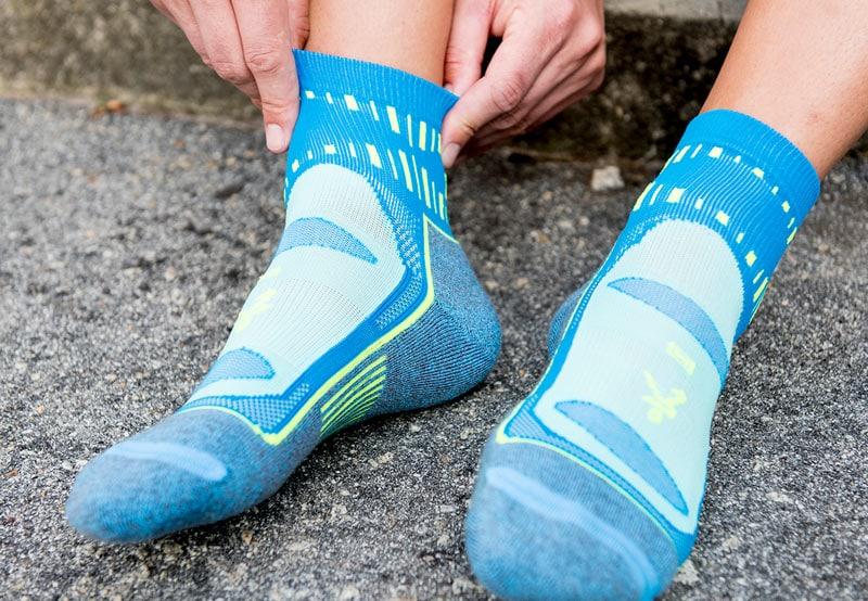 Как выбрать носки для бега