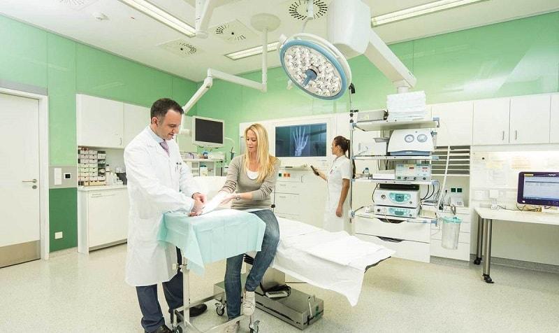 Отчёт о доступности помещений больниц и медицинских центров